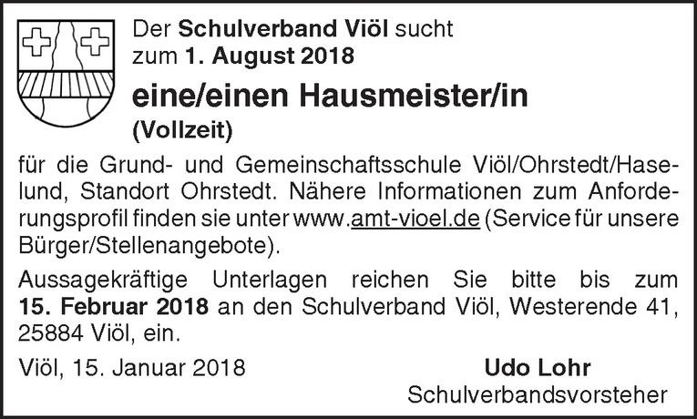 Ungewöhnlich Hausmeister Job Ziel Fortsetzen Ideen ...