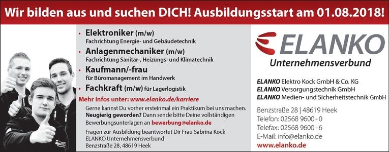 Ausbildung: Elektroniker (m/w)