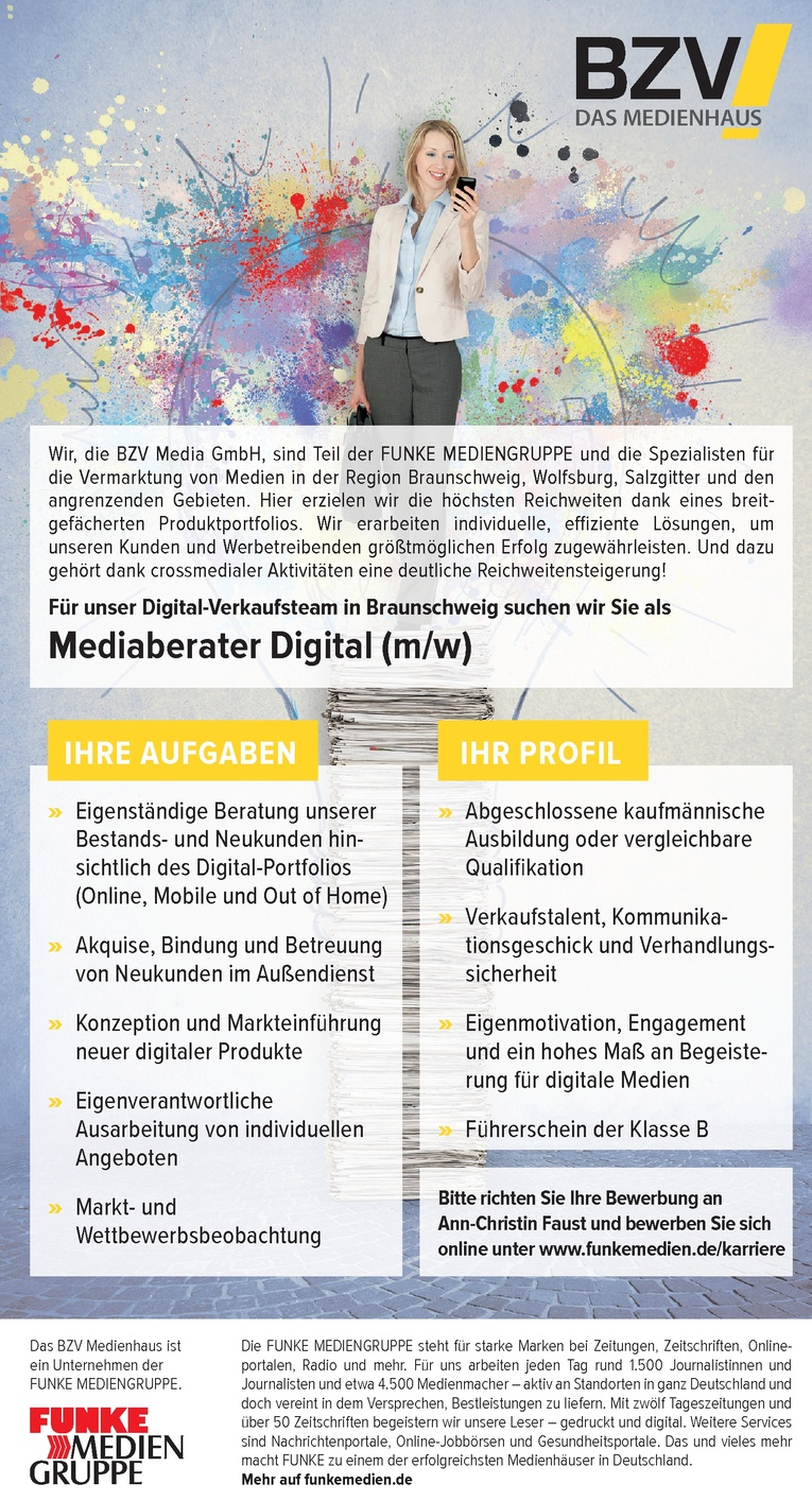 Mediaberater Digital (m/w)