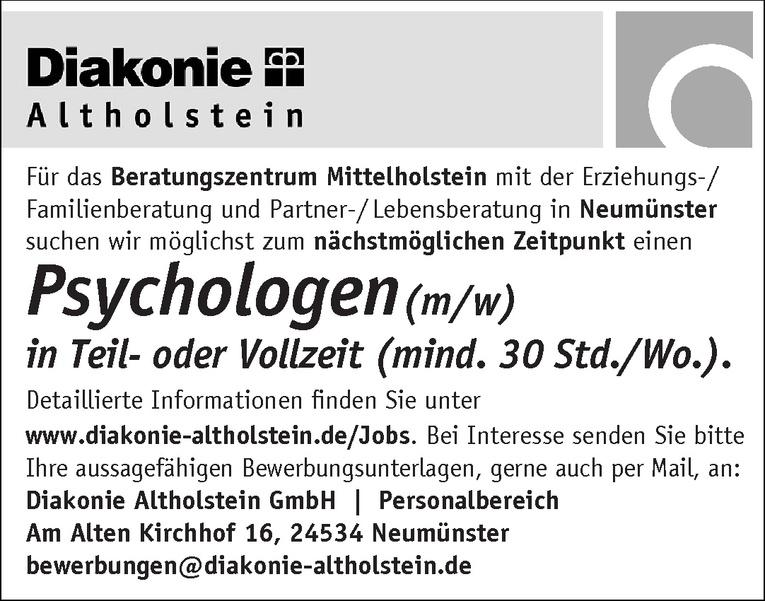 Psychologen(m/w)