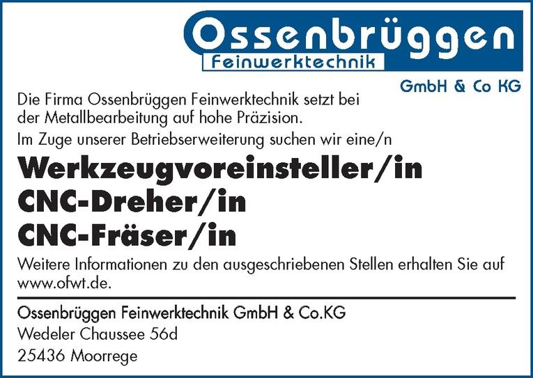 CNC-Fräser/in