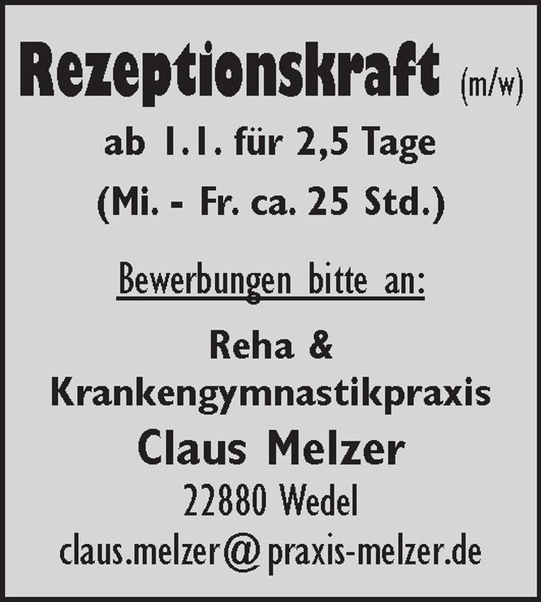Rezeptionskraft (m/w)