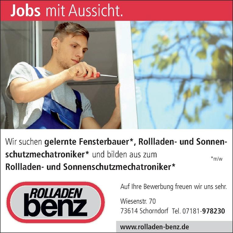 Fensterbauer m/w
