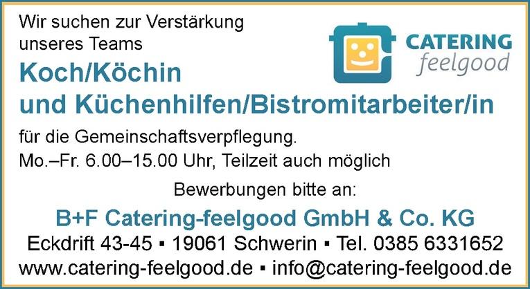 Küchenhilfen / Bistromitarbeiter/in