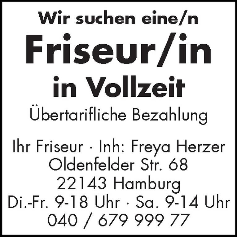 Friseur/in