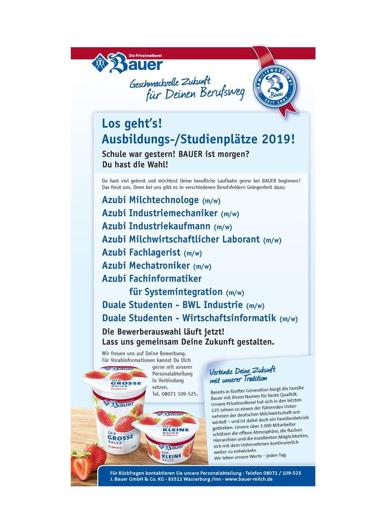 Ausbildung Fachlagerist (m/w) ab September 2019