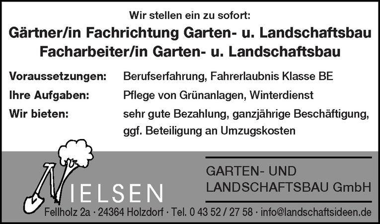 Facharbeiter/in Garten- u. Landschaftsbau