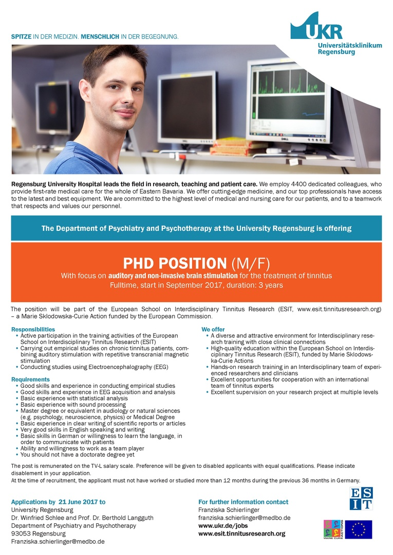 PhD POSITION (M/F)