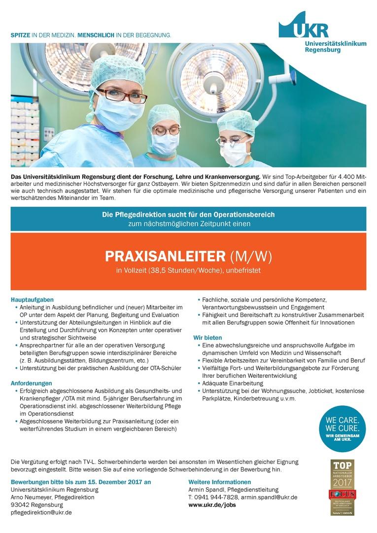 PRAXISANLEITER (M/W)
