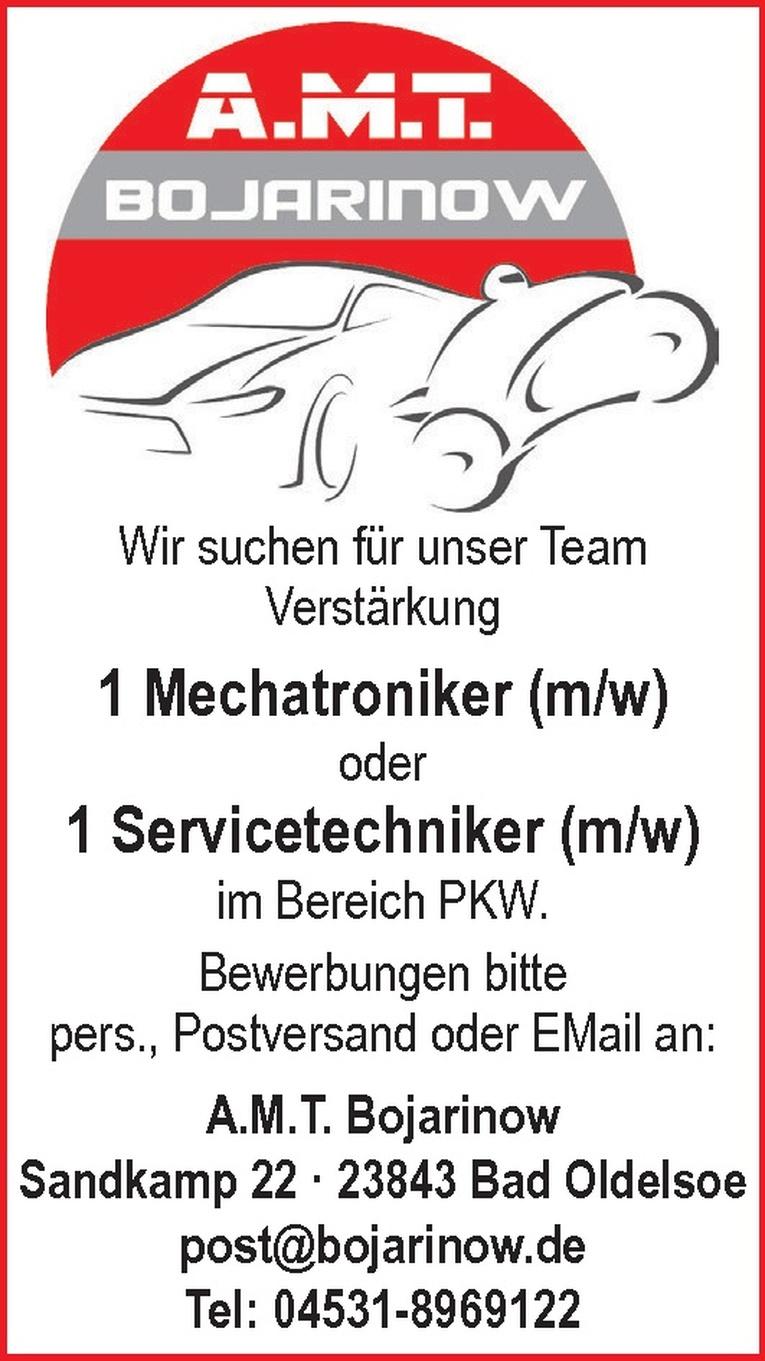 Mechatroniker (m/w) / Servicetechniker (m/w)