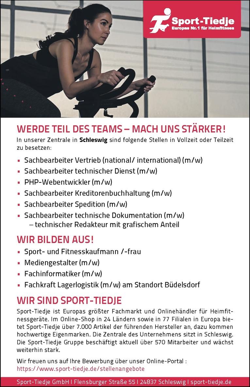 Ausbildung: Sport- und Fitnesskaufmann /-frau