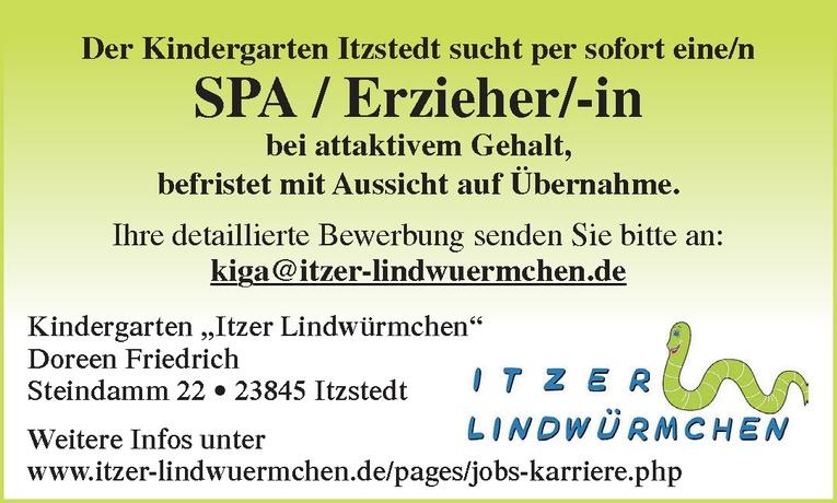 SPA / Erzieher/-in