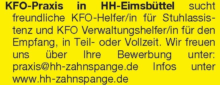 KFO-Helfer/in