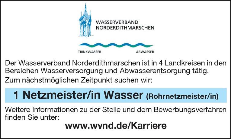 Netzmeister/in Wasser (Rohrnetzmeister/in)