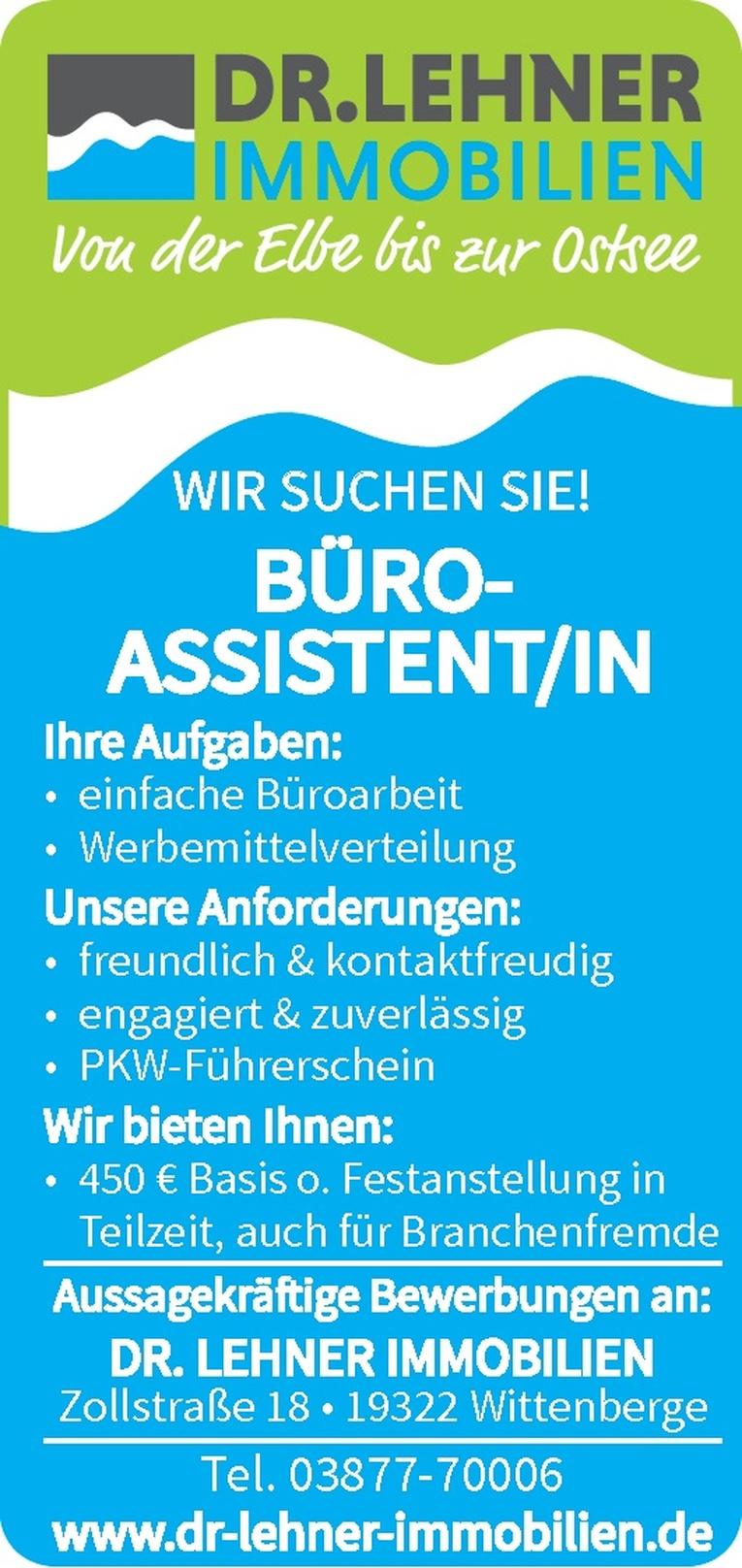 Büro-Assistent/in