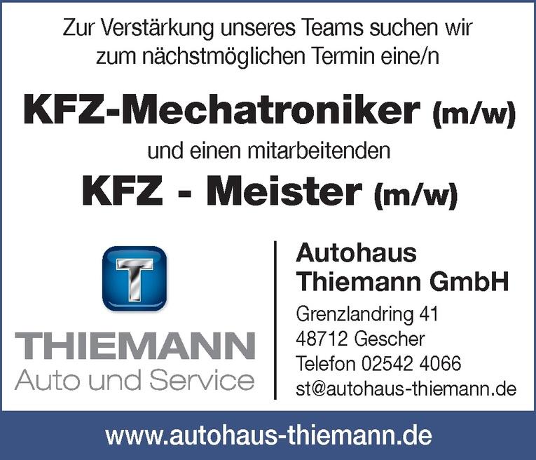 KFZ - Meister (m/w)