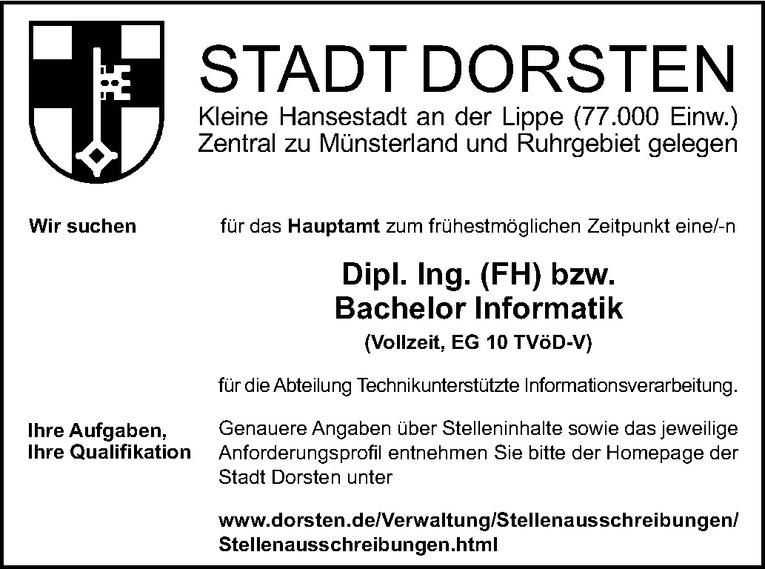 Dipl. Ing. (FH) bzw.  Bachelor Informatik