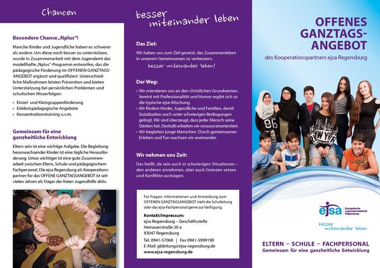 Pädagogische Fachkraft (m/w), 20 Wochenstunden - Schulische und sozialpädagogische Förderung in Ganztagsschule