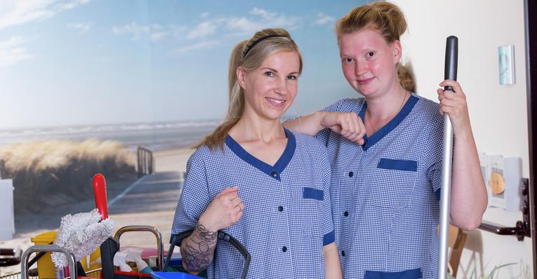 Mitarbeiter (m/w) für die Reinigung auf 450 Euro-Basis