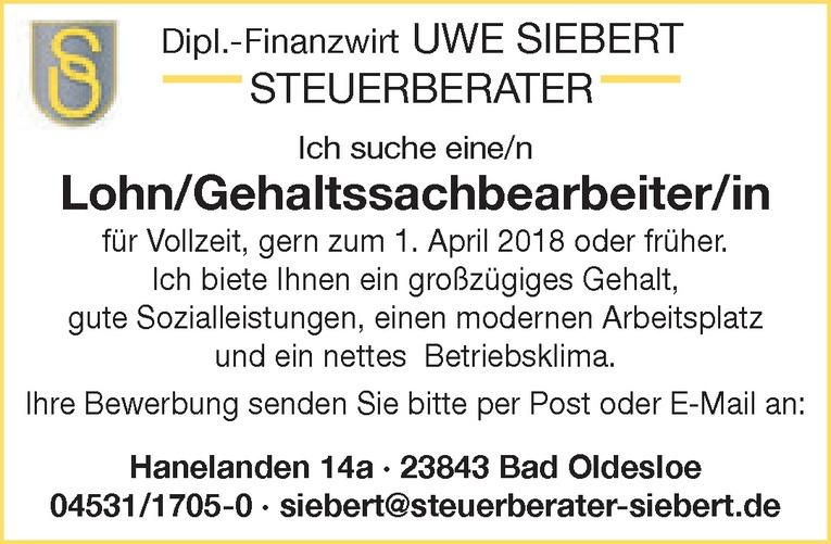 Lohn/Gehaltssachbearbeiter/in