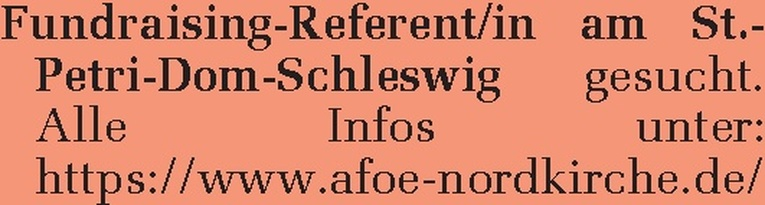 Fundraising-Referent/in