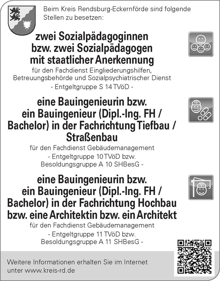 Bauingenieurin bzw. Bauingenieur (Dipl.-Ing. FH / Bachelor) in der FachrichtungTiefbau / Straßenbau