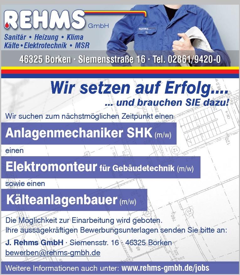 Anlagenmechaniker SHK (m/w)