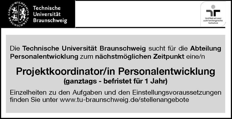 Projektkoordinator/in Personalentwicklung