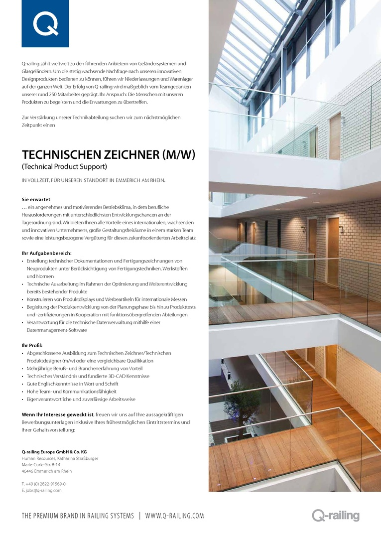 Technischer Zeichner (m/w)