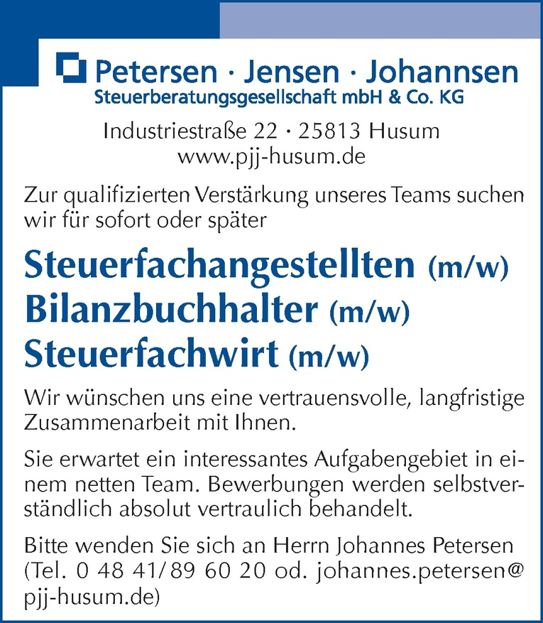 Steuerfachangestellten (m/w)