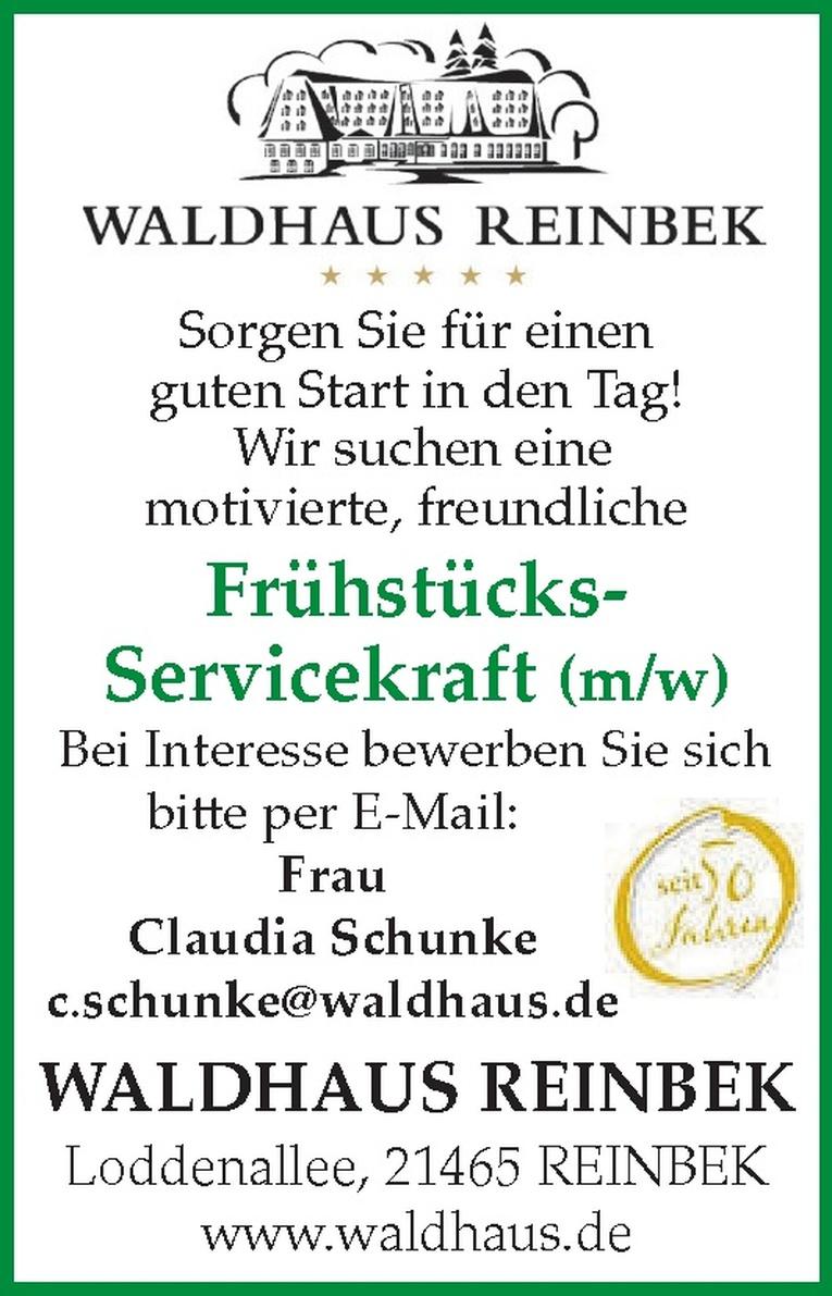 Frühstücks-Servicekraft (m/w)
