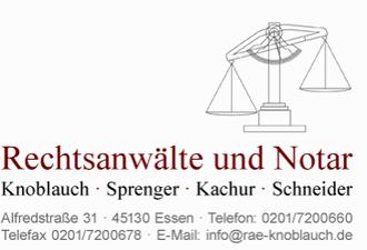 Anwaltskanzlei Knoblauch Sprenger, Kachur und Schneider