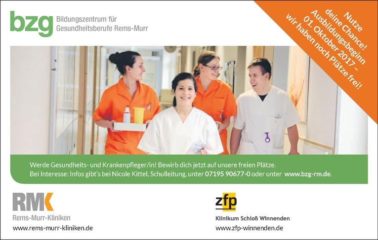 Ausbildung Gesundheits- und Krankenpfleger/in