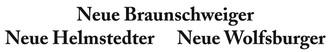 Stellenanzeigen aus der Neuen Braunschweiger