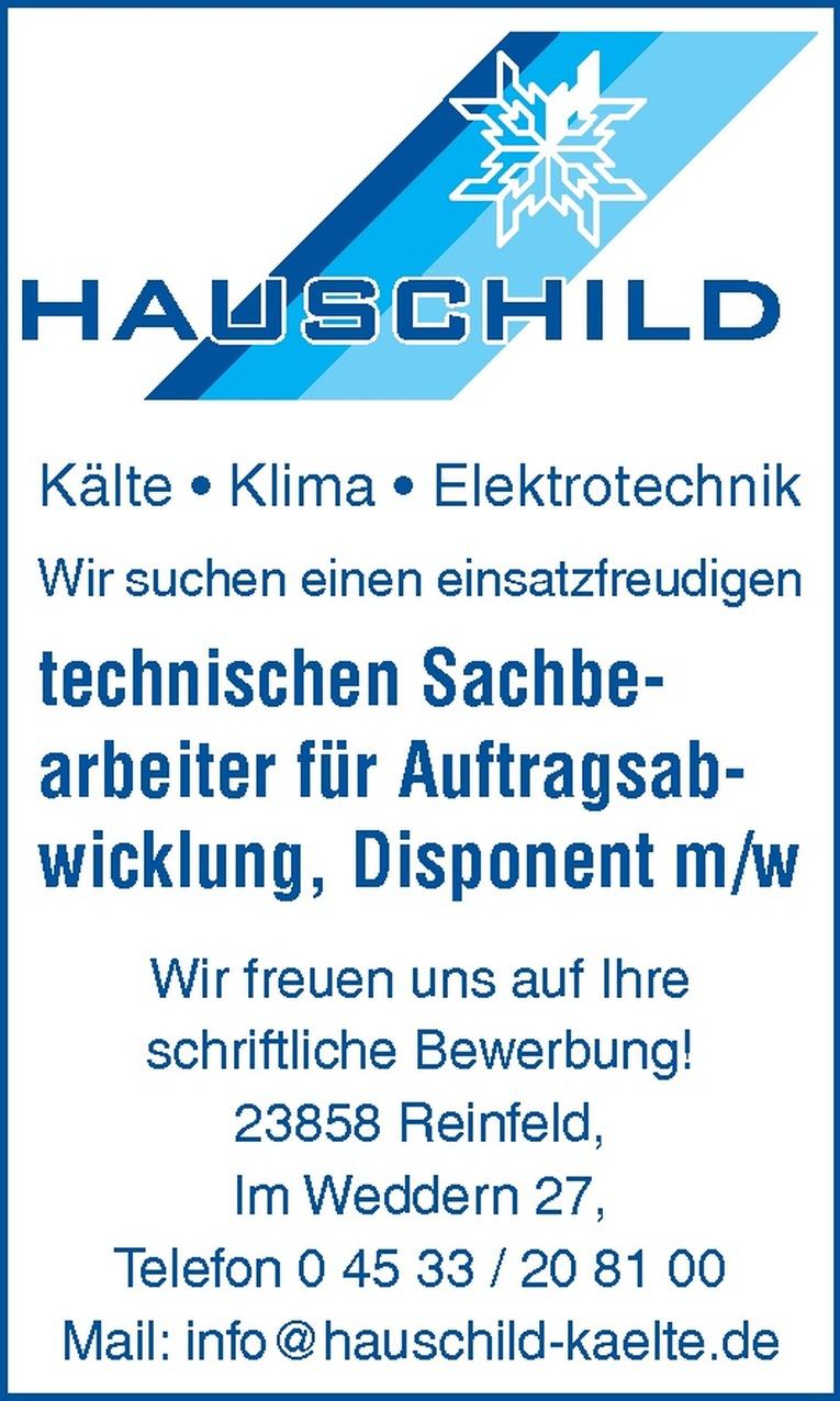technischen Sachbearbeiter für Auftragsabwicklung, Disponent m/w