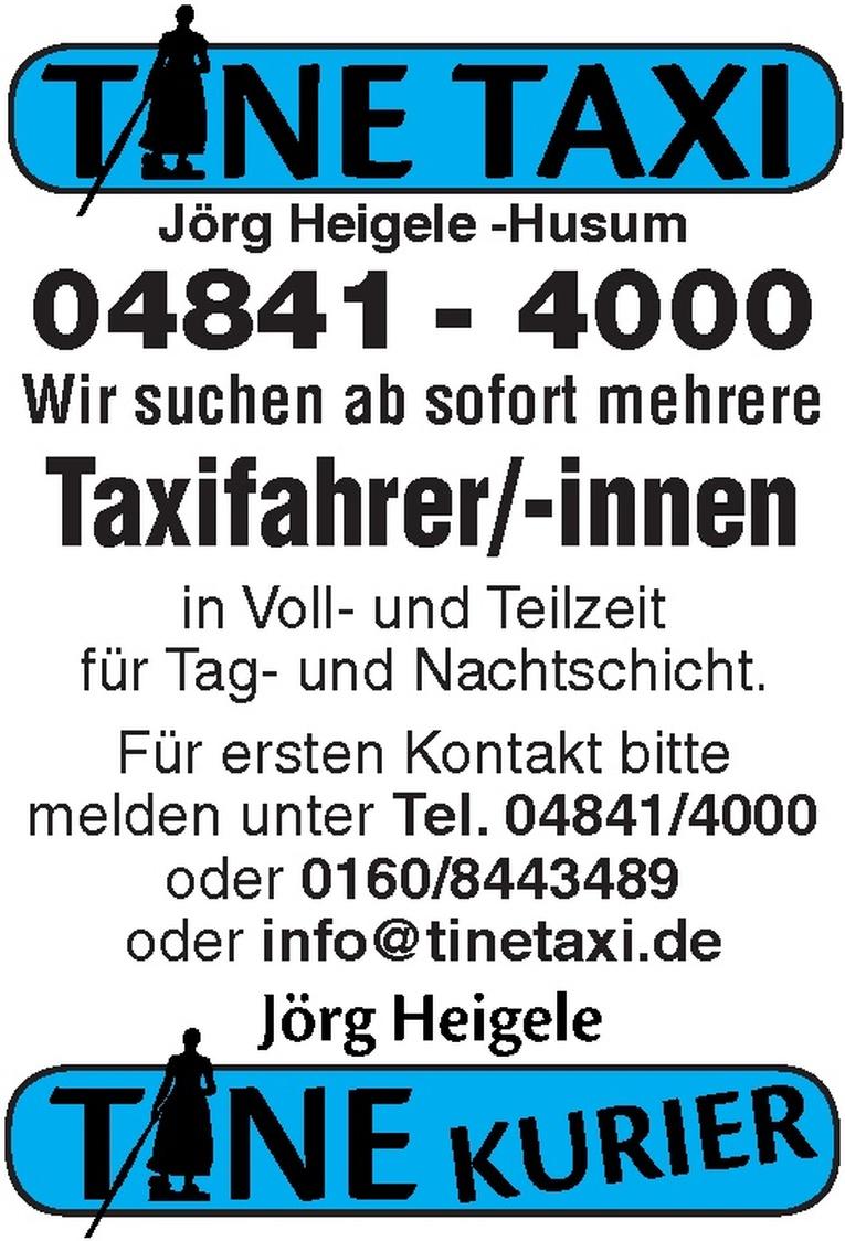 Taxifahrer/-innen