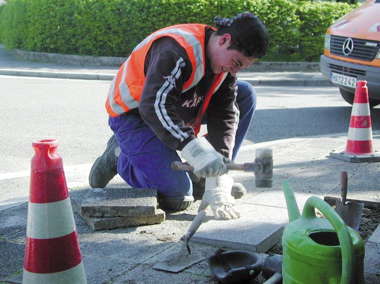 Ausbildung zum/r Straßenbauer/in