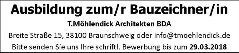 Ausbildung zum/r Bauzeichner/in