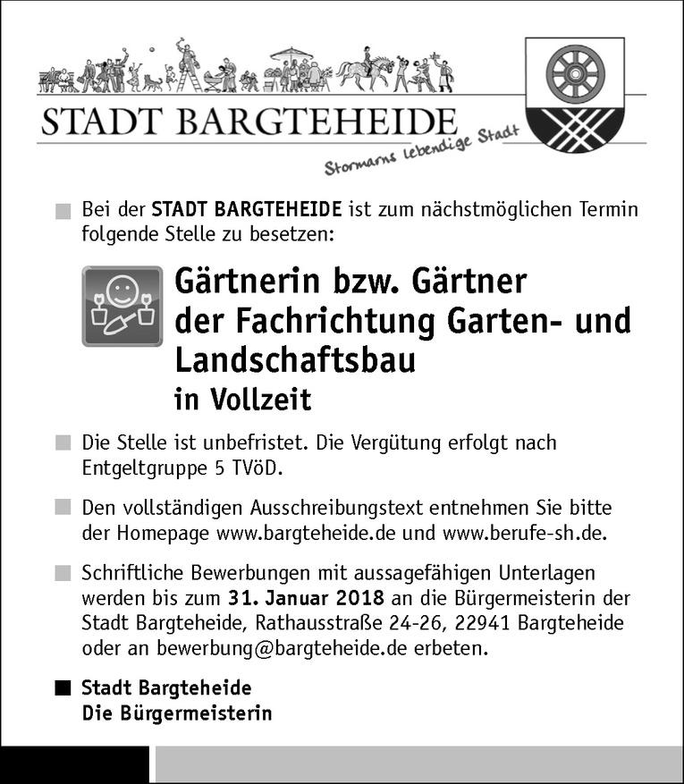 Gärtnerin / Gärtner