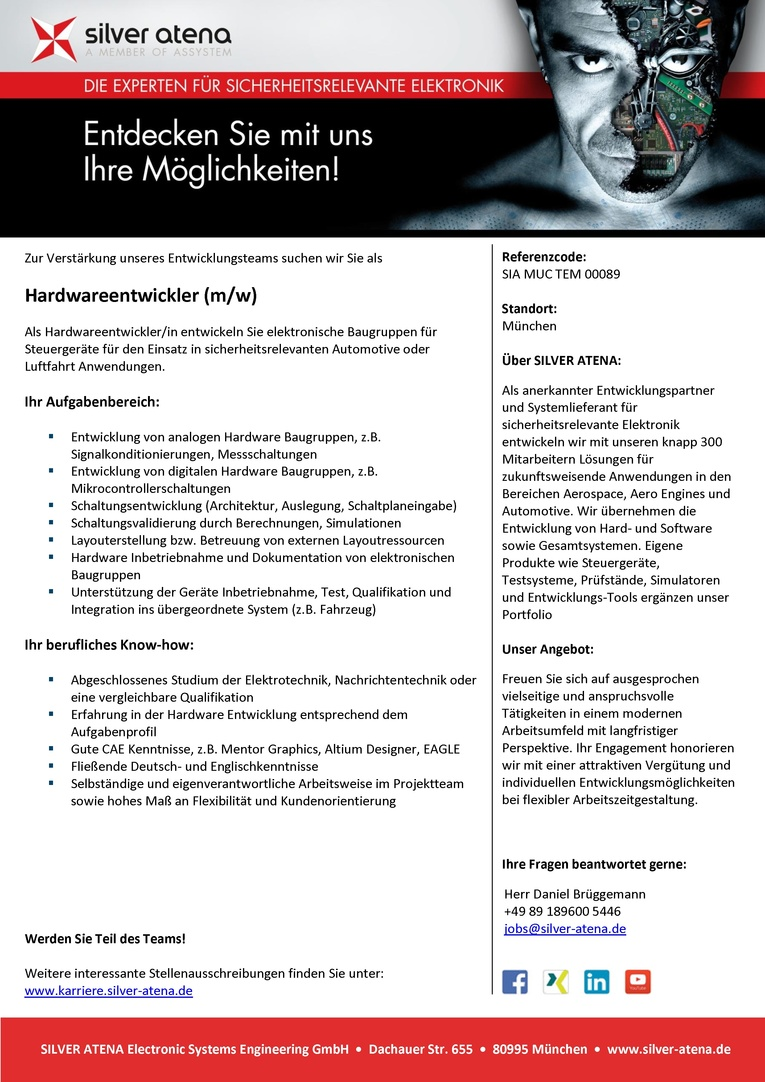 Hardwareentwickler (m/w)