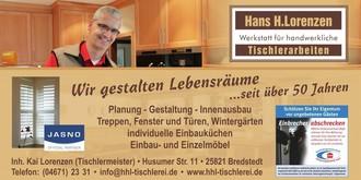 Hans-H.Lorenzen, Bau-und Möbeltischlerei