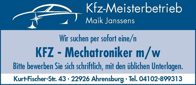 KFZ - Mechatroniker m/w