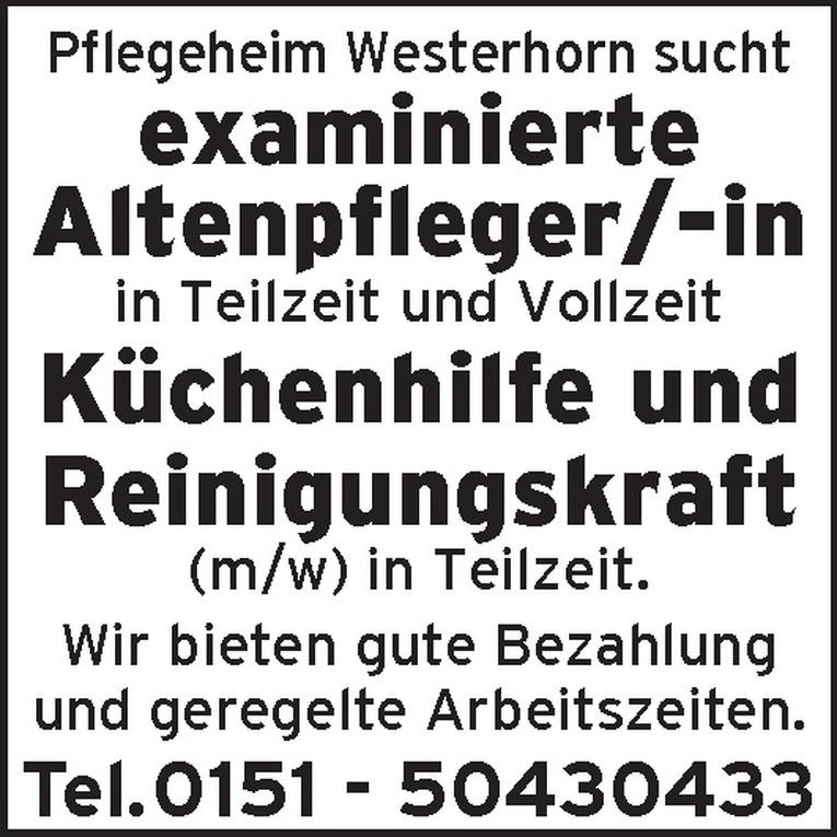 examinierte Altenpfleger/-in