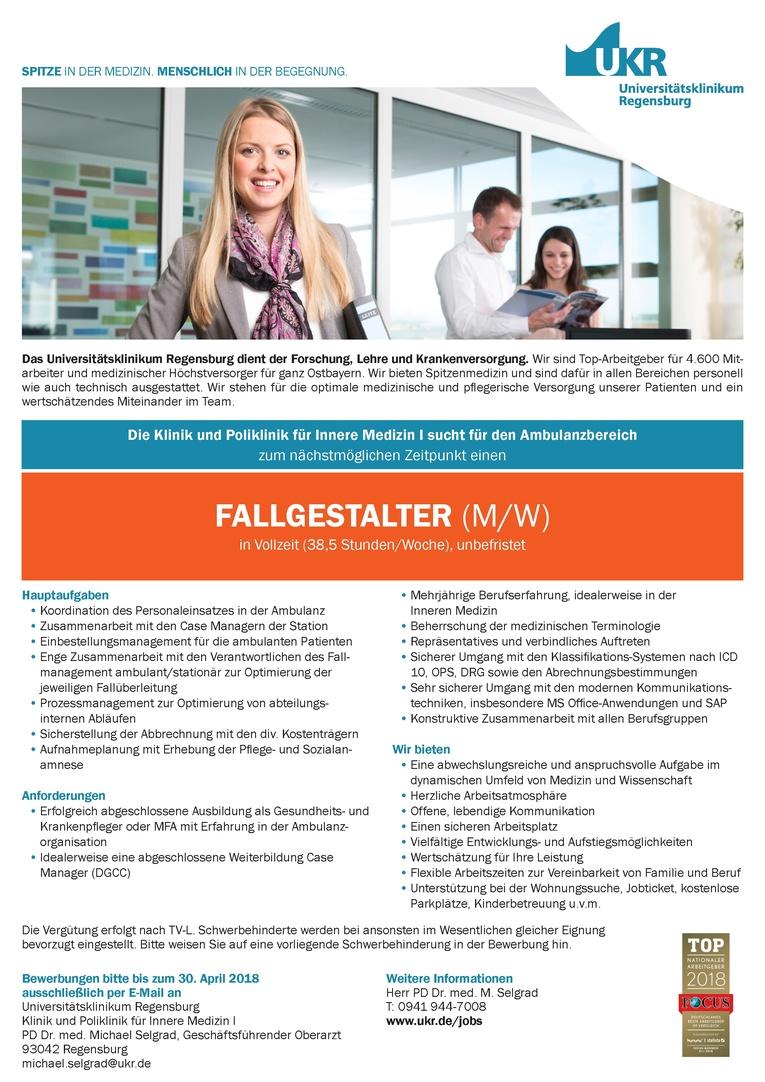 FALLGESTALTER (M/W)