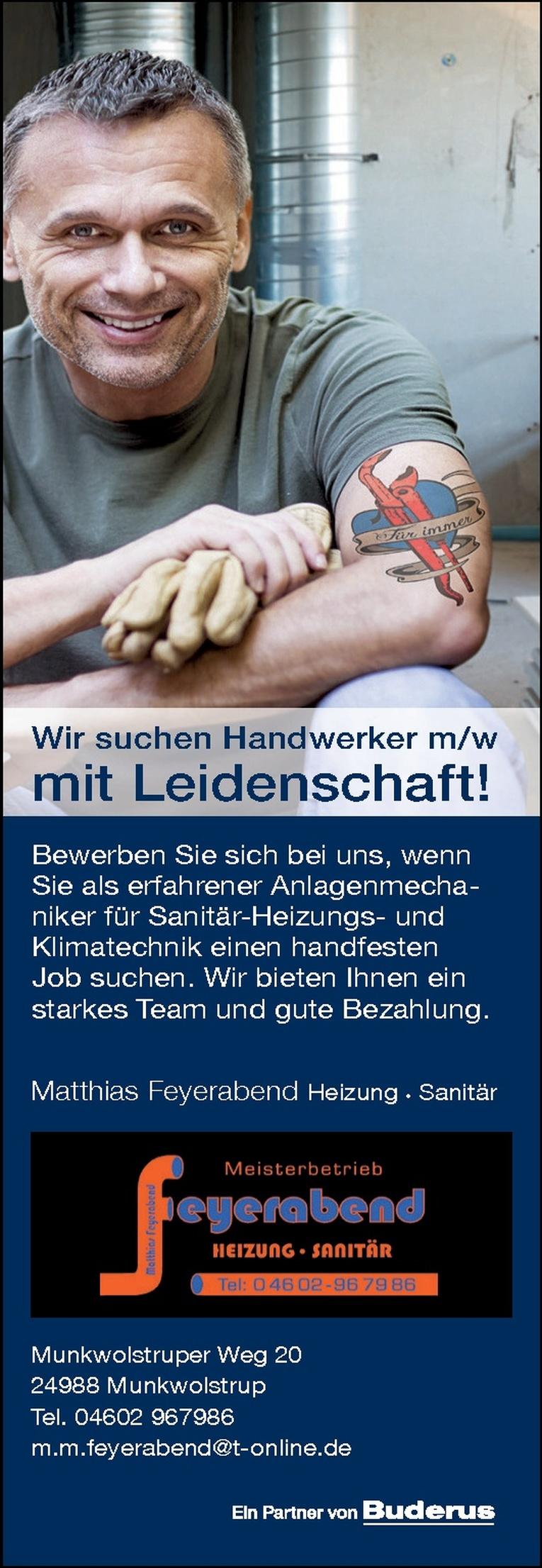 Anlagenmechaniker für Sanitär-Heizungs- und Klimatechnik m/w