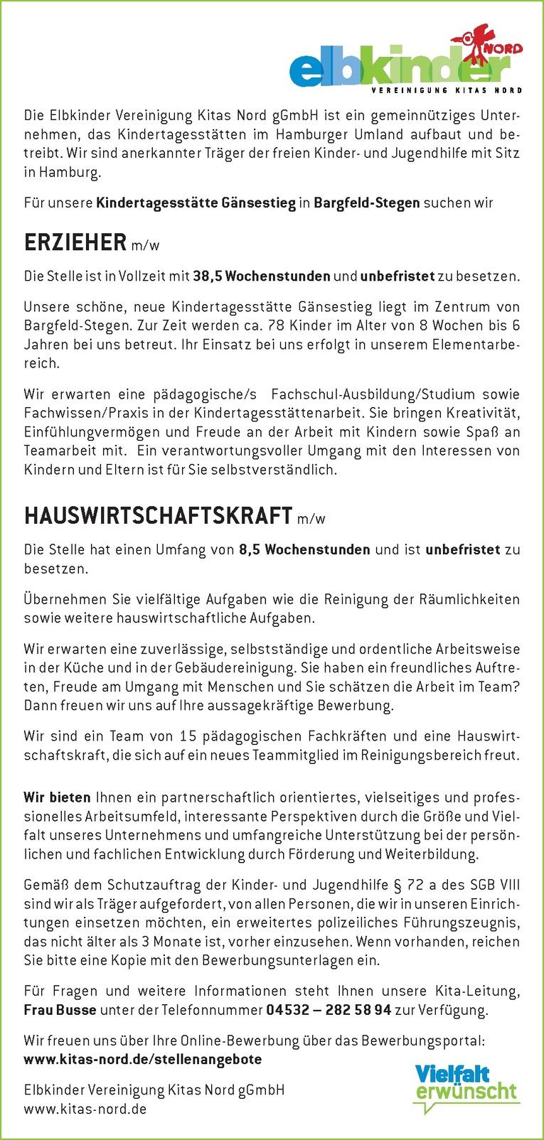 HAUSWIRTSCHAFTSKRAFT m/w