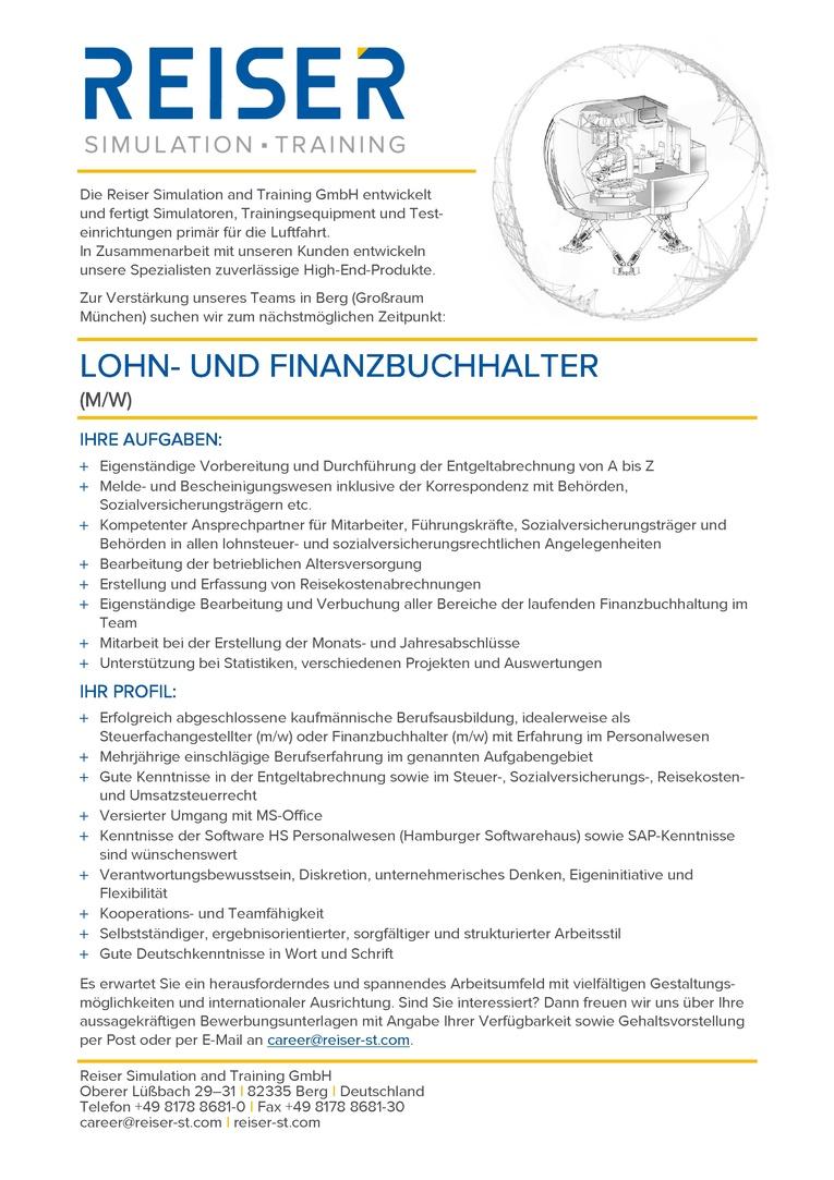 Lohn- und Finanzbuchhalter (m/w)