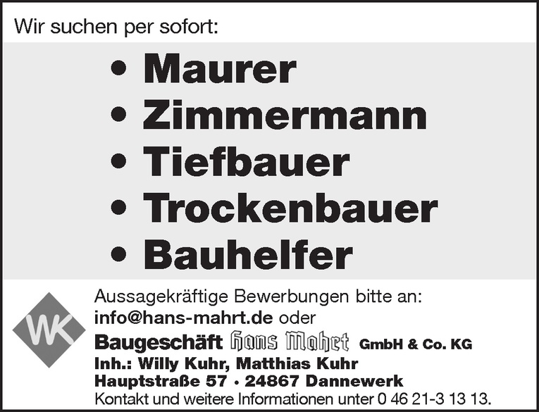 Trockenbauer
