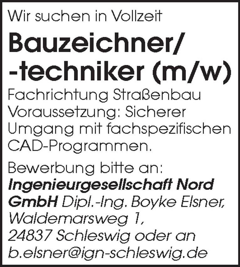 Bauzeichner/-techniker (m/w)