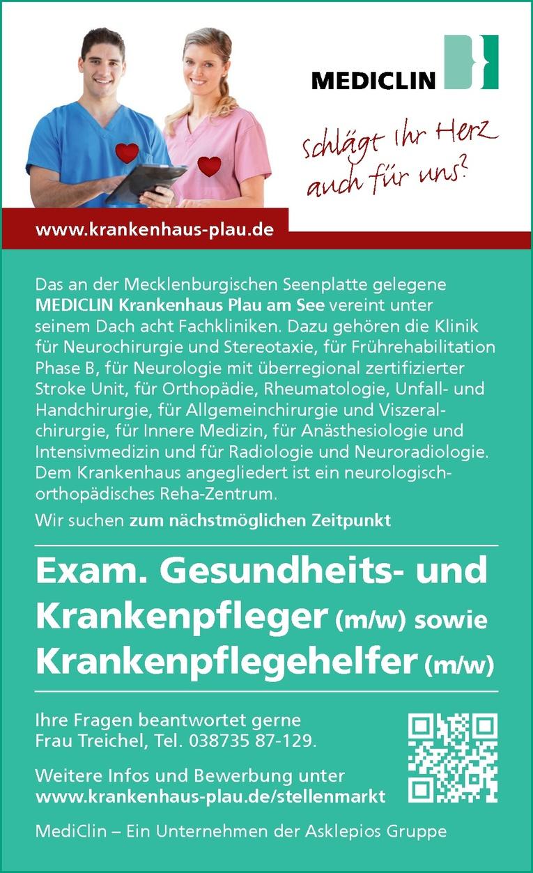 Exam. Gesundheits- und Krankenpfleger (m/w)